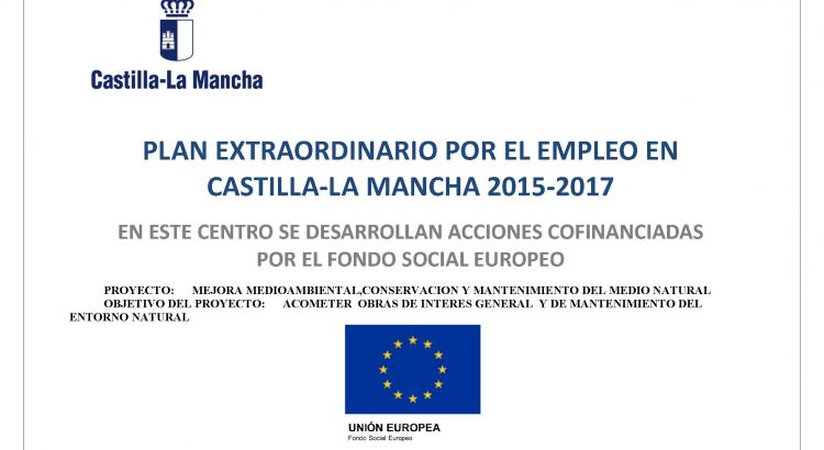 Cartel plan de empleo